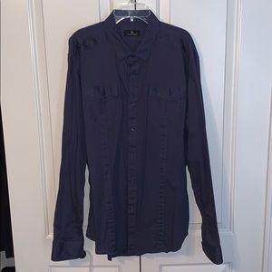 7 Diamonds Hall of Fame dress button up shirt